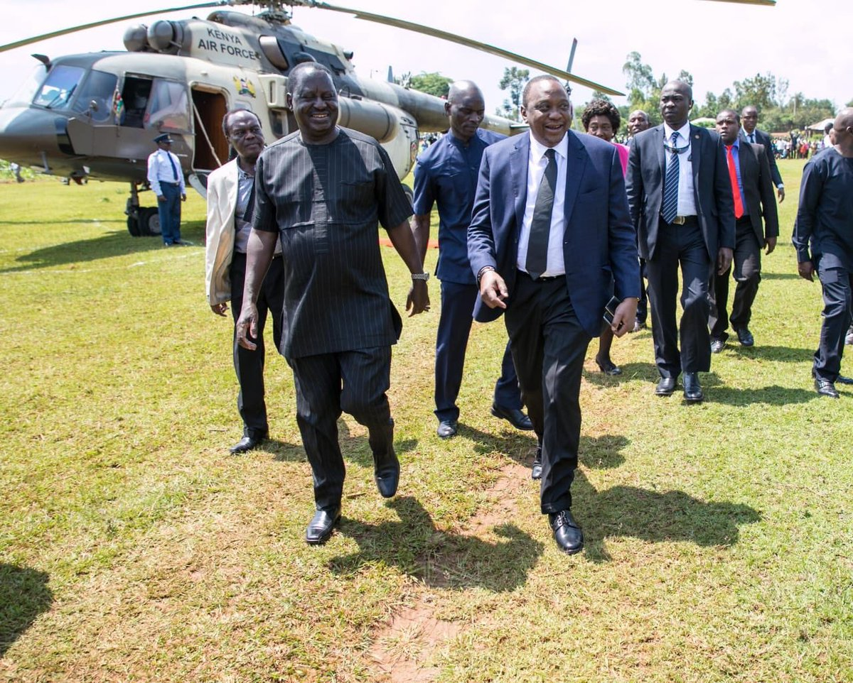 It is Friday & Brothers are spending their afternoon in Kisumu ....  ... Kenya has never experienced such quiet in its History ... Now, let the Brothers deliver Real Development .. And end Corruption .. <br>http://pic.twitter.com/mqmmrQicE6