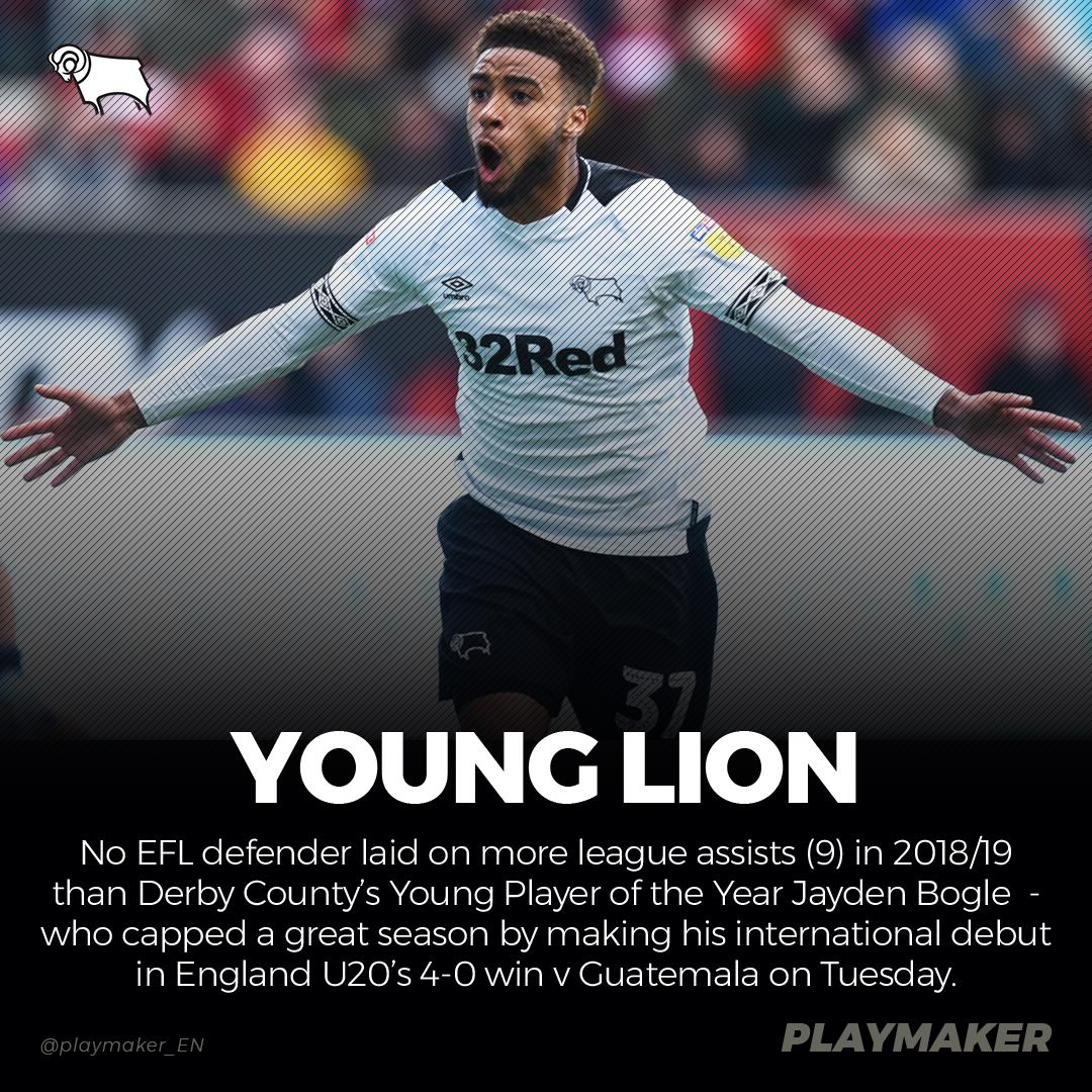 📈 Most league assists in 2018/19 (DEFENDERS; top 4 tiers): 12🅰: Alexander-Arnold 11🅰: Robertson 9🅰:💥@Jayden_bogle💥, Stacey, Lewington 8🅰: McFadzean, L Young #YoungLions #DCFC @dcfcofficial