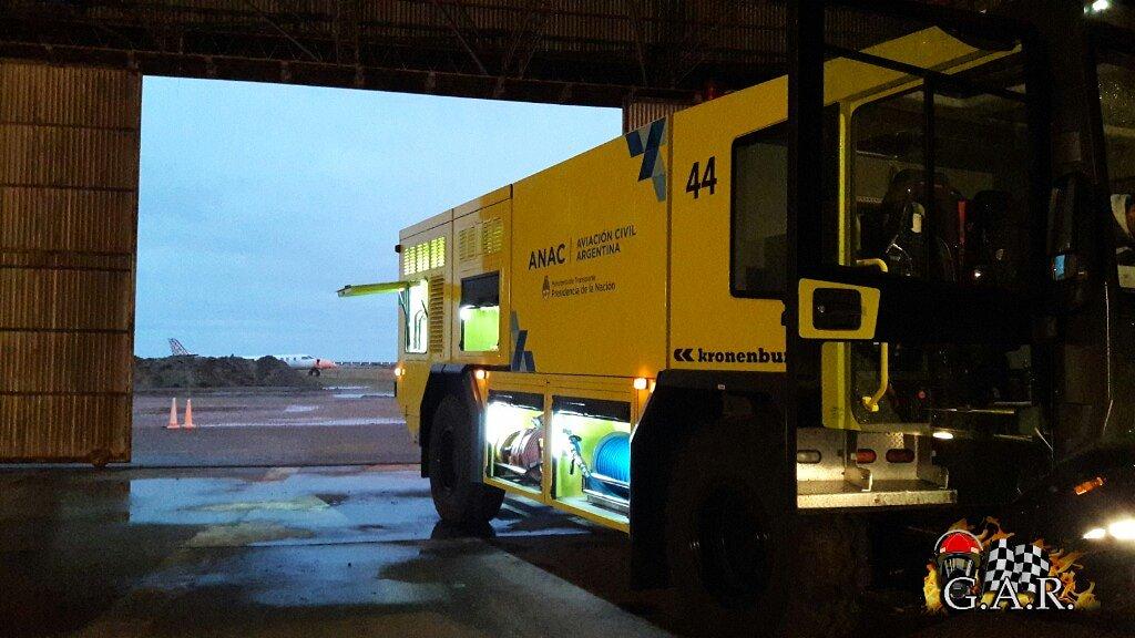 Buen día! Arrancando una nueva jornada!✈🚒🚨👨🏻🚒 💪 #Bombero #BomberosAeroportuarios #ARFF #ANAC #Aeropuerto #Viedma #SEI #SSEIViedma #FireFighters #FireRescue #BuenViernes