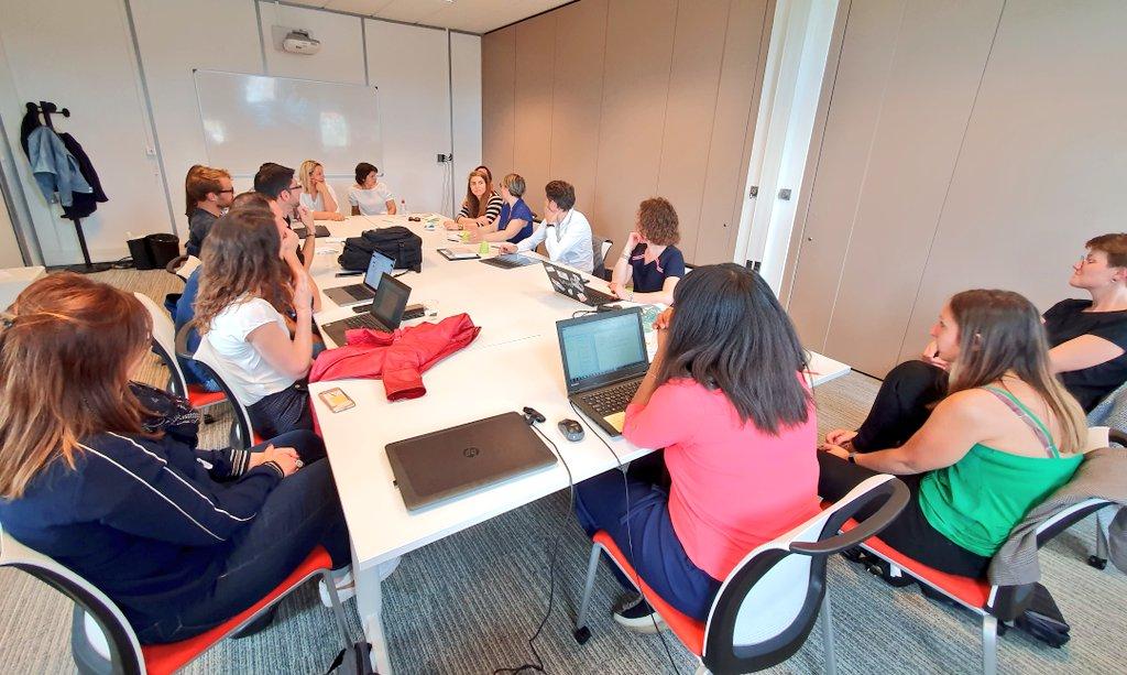 Après une matinée chargée pour nos porteurs de projet @ItinerR_Sterne , c'est l'heure du débriefing ! #startup #innovation #accompagnement #Normandie…