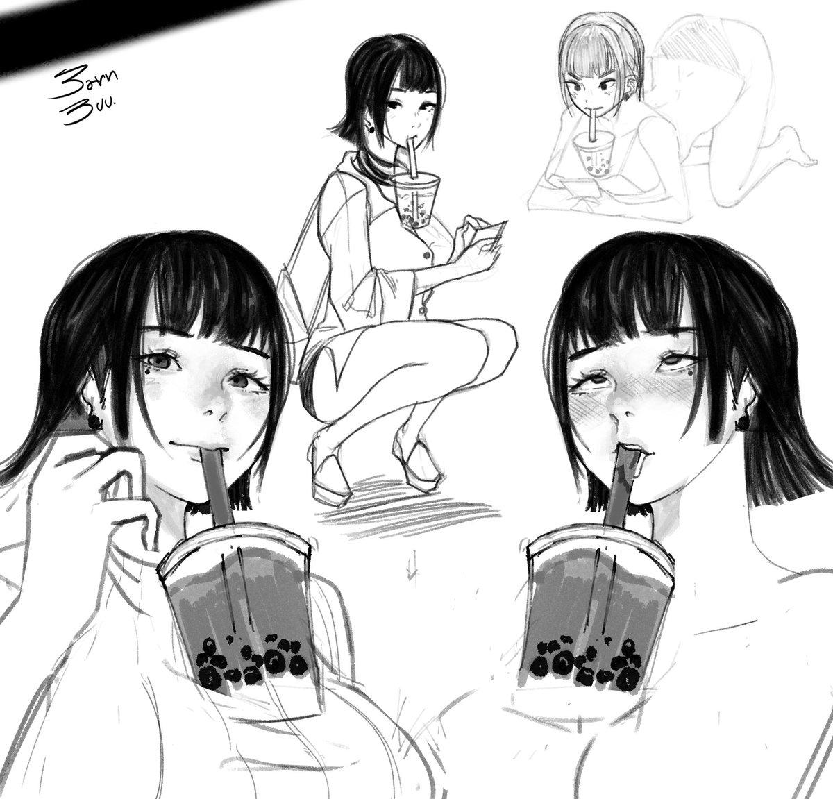 """日本奶茶挑战,【胸部喝奶茶】,真的是""""波霸 Tea-rrific"""",你够""""凶""""吗?"""