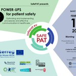 Power-ups for patient safety! The Interreg project Safe Pat wants to bring down the number of medical errors. It develops better guidelines and safety standards. Safe Pat's second symposium is happening on 13 February 2020. @SafepatEmr