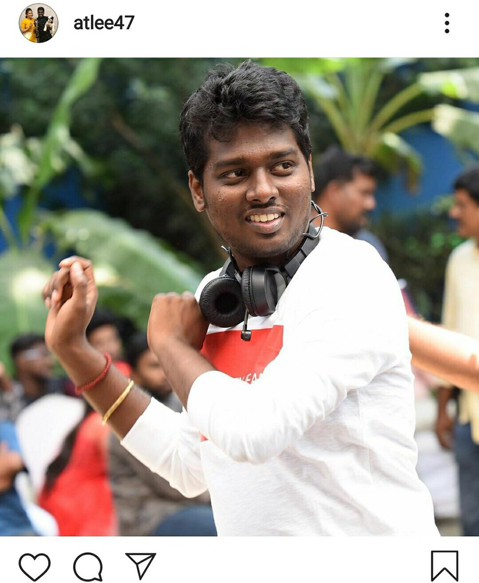 #Thalapathy63 Director @Atlee_dir Recent ! Hardwork and Dedication Will Bring You SUCCESS ! <br>http://pic.twitter.com/nzHWgzp28k