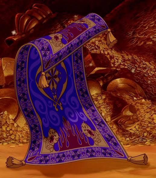 魔法の絨毯 X アラジン Hotワード
