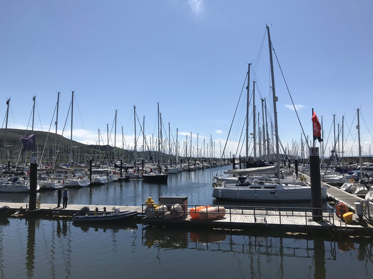 Our Largs sailing trips start on Monday and it is beautiful here today! ☀️ We're PRETTY sure the West of Scotland is always this blue and dry, right? Can't wait to welcome some familiar faces next week! ⛵️