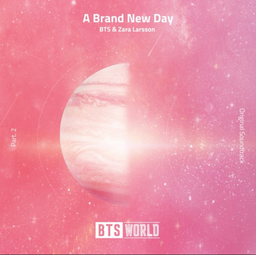 #ABrandNewDayOutNow its finally here!!! Weve been working on this for over a year and its been SOOO hard to keep it a secret. Im so honored to be a part of this. Thank you @BTS_twt love you 💕