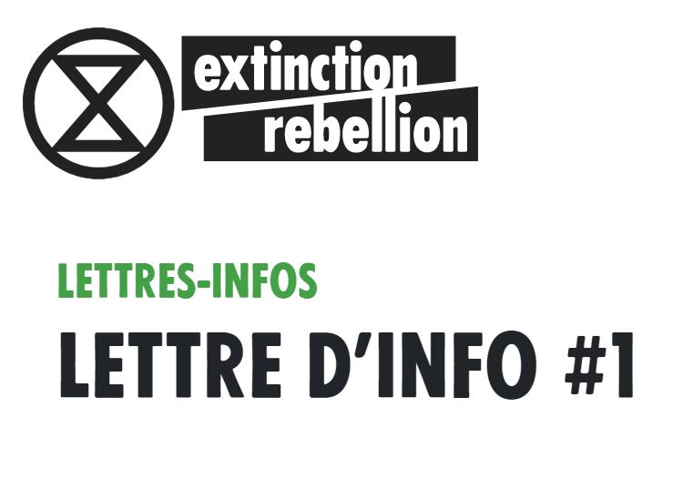 Notre première lettre d'informations publiques Extinction Rebellion France est parue sur notre site, bonne lecture !   https:// extinctionrebellion.fr/lettres-infos/ 2019/06/11/lettre-info-1.html  … <br>http://pic.twitter.com/lRLkJSdJy9