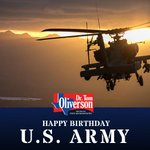 Happy birthday @USArmy! Thank you to all who have served, past & present. #txlege