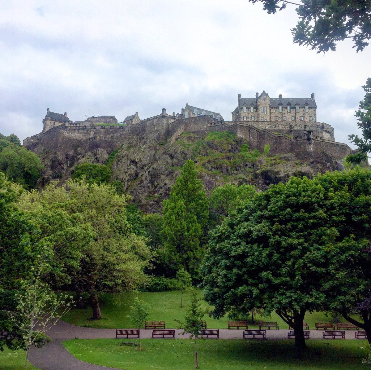 From the moment you glimpse @edinburghcastle you know you're somewhere special. #highonahill @VisitScotland