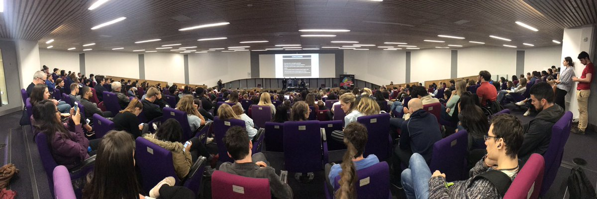 WOW! What a fantastic turn out to this afternoons presentation! Massive congratulations on those of you who presented your outputs to the entire cohort! Some really inspiring work! 😀 #GCExeter @UniofExeter