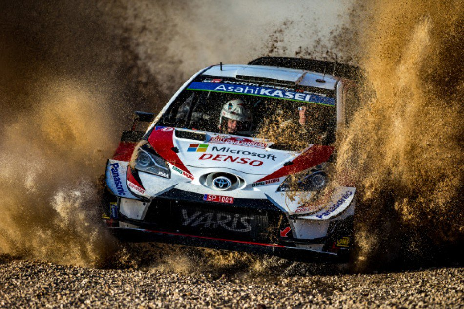 #WRC - @JariMattiWRC leads @Rally_d_Italia after the first loop of stages on Friday morning, heading a @TGR_WRC one-two with a 2.8 second advantage over @OttTanak ⏩https://www.fia.com/news/wrc-latvala-leads-sardinia-ogier-drops-out…