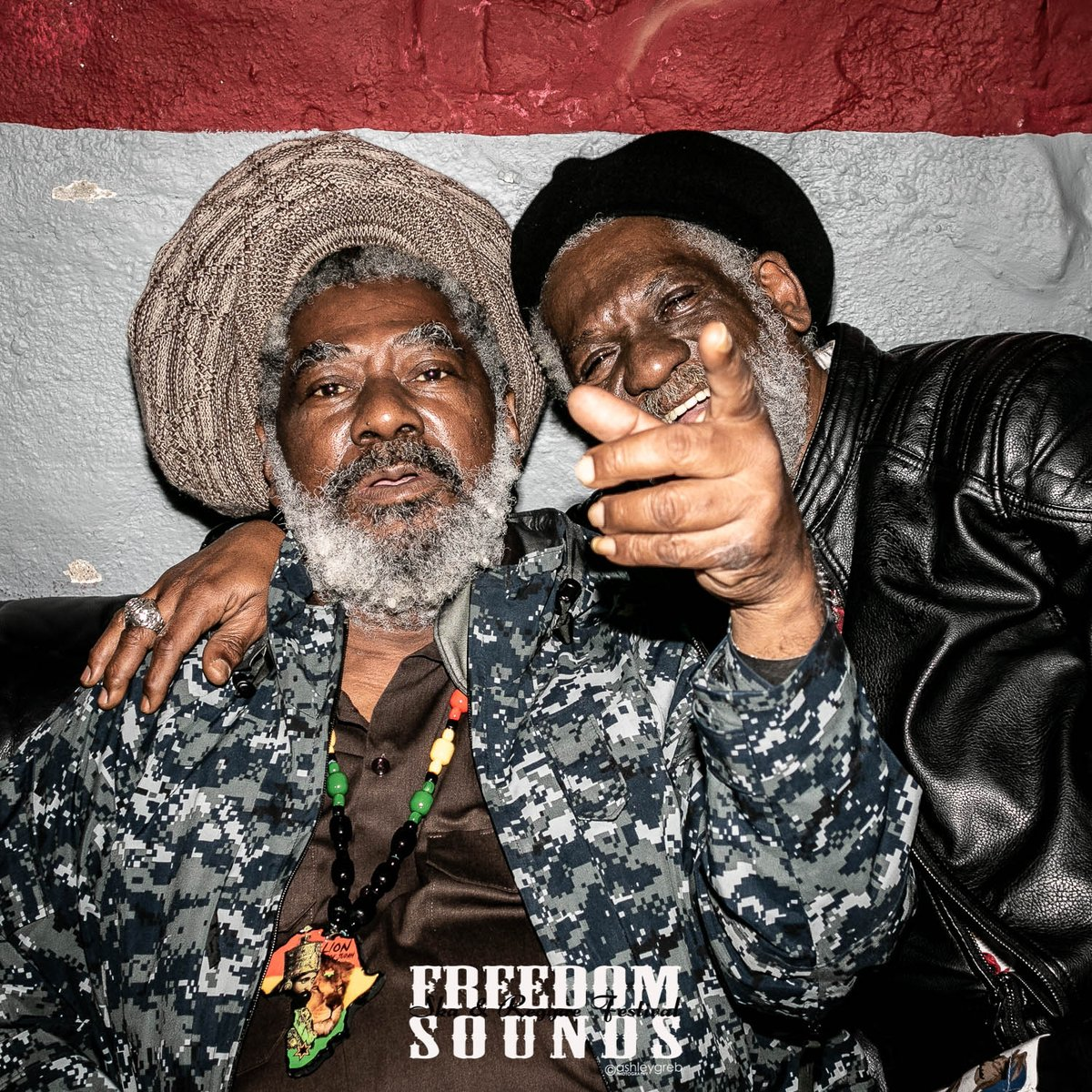 Easily one of my favourite shots from this year's wonderful @FreedomSounds Festival, humbly backstage with the incredible #reggae legends Johnny Clarke and Winston McAnuff.