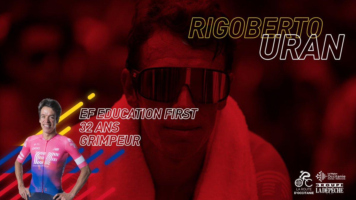 Bienvenue en Occitanie @UranRigoberto ! 👋🇨🇴  La star colombienne a choisi la Route d'Occitanie pour préparer @LeTour !  ¡Rigo ha elegido la Ruta de Occitania como preparación para el Tour de Francia! 📺 @SenalColombia transmitirá las cuatro etapas.  #RDO2019