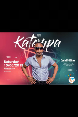 Are you ready for @Katempa_muziq 🎶🎶 he will be preforming live tomorrow @FmRealest #Code254show