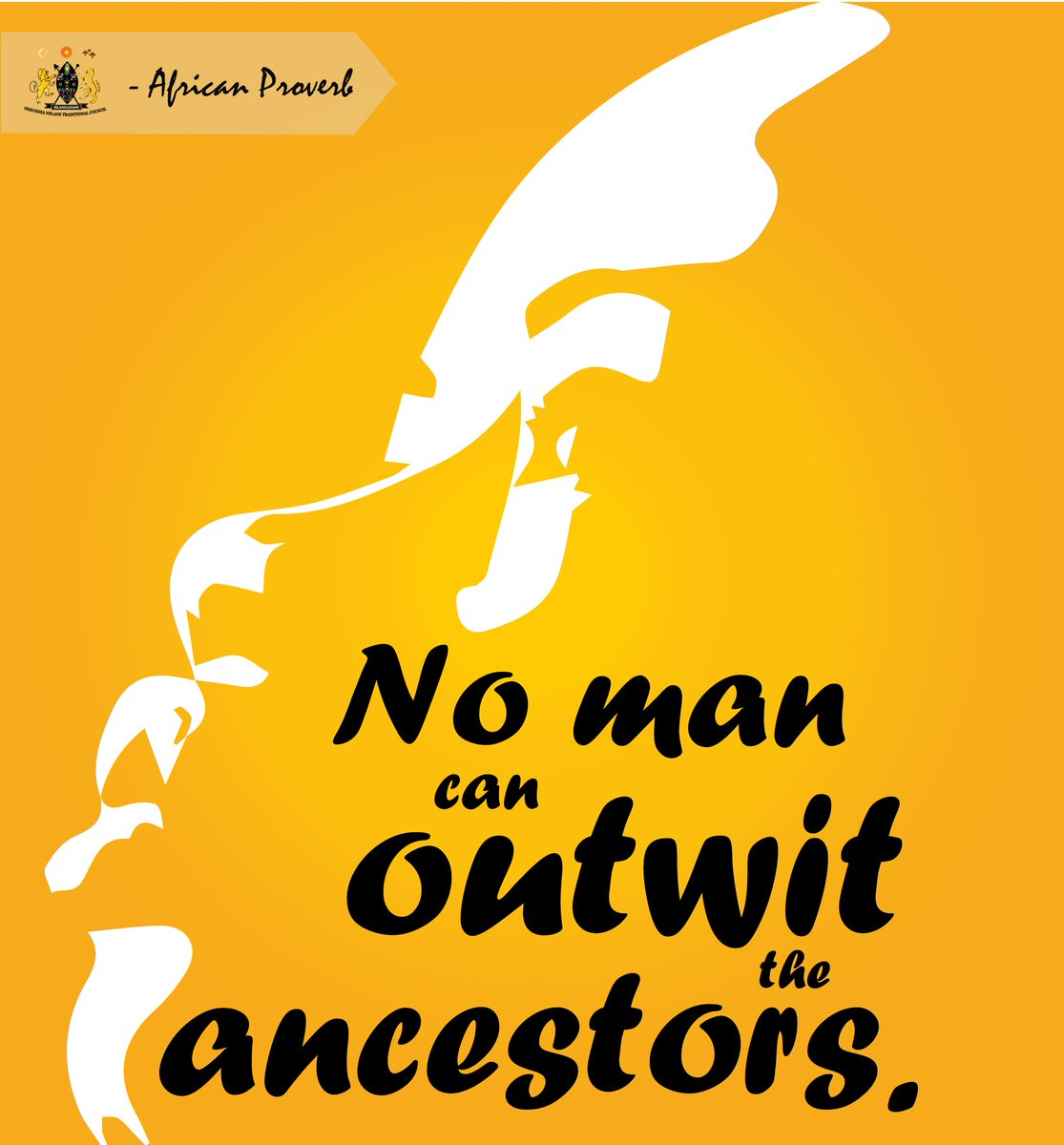 No man can outwit the ancestors  #africanproverb #motivationalquote <br>http://pic.twitter.com/KmsCnNwopU