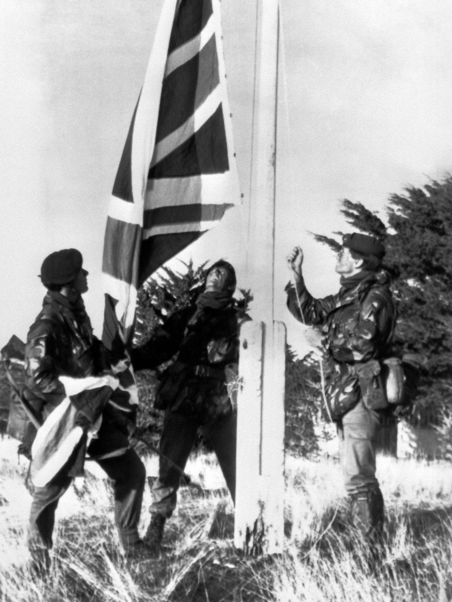 On this day in 1982, British forces liberated the Falkland Islands following an invasion from Argentina. We will never ever forget the sacrifices that were made there. We will always be proud of our servicemen and women. #Falklands🇬🇧