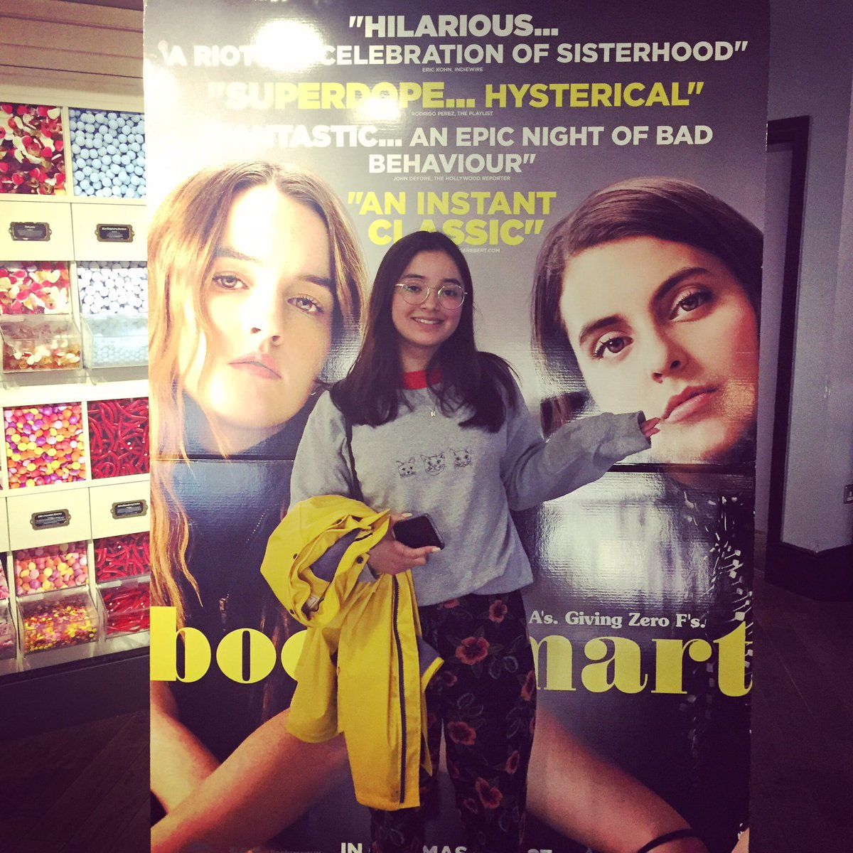 And now @Booksmart !