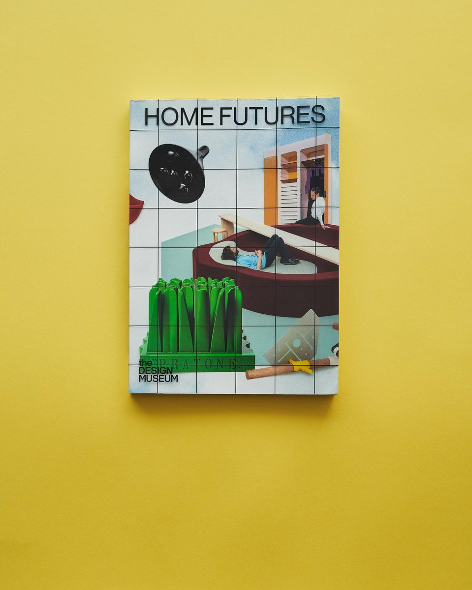 Explore today's home through the prism of yesterday's imagination. The #HomeFutures illustrated book features works by Ettore Sottsass, Superstudio, Archigram and Dunne & Raby. Available worldwide > fal.cn/sV9y