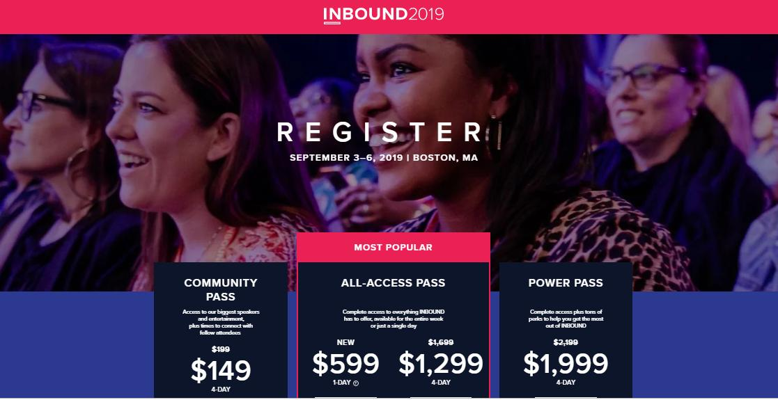 🚀Join me at #Inbound2019! Use my discount code to get 25% off a 4-day all access pass. hubs.ly/H0jgBX80 See you there! @HubSpot @INBOUND