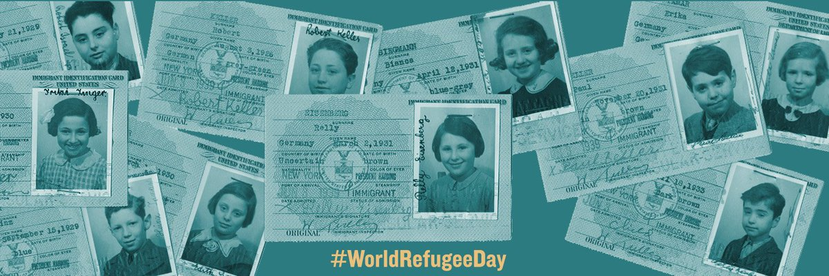 Refugees faced enormous obstacles in finding safe havens during WWII. In mid-1938, 140,000 people, most of whom were Jews, had applied for US visas. Within a year, that number had nearly doubled, creating an 11-year waiting list. #WorldRefugeeDay encyclopedia.ushmm.org/content/en/art…