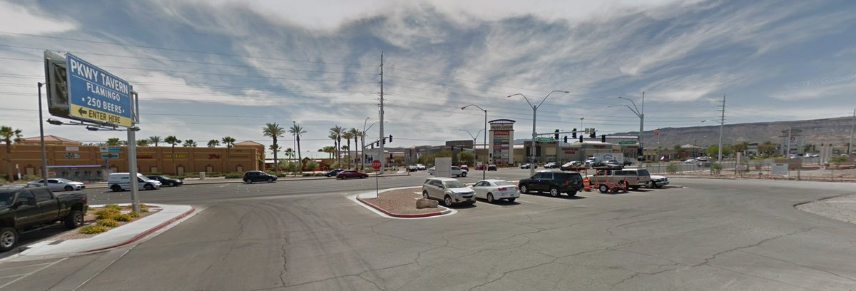 The location of @BTS_twt's Dispatch photoshoot in Las Vegas, Nevada is at PKWY Tavern Flamingo (corner of W. Flamingo Drive and South Grand Canyon Dr). It's our international landmark now.  <br>http://pic.twitter.com/QkTwuXzz2L