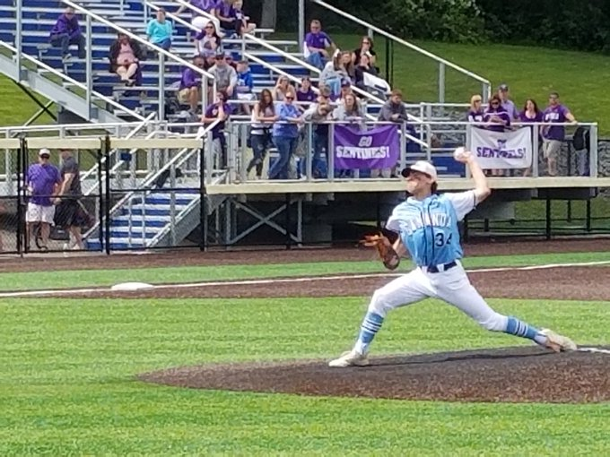 Gananda baseball's season ends in state Class C semifinals