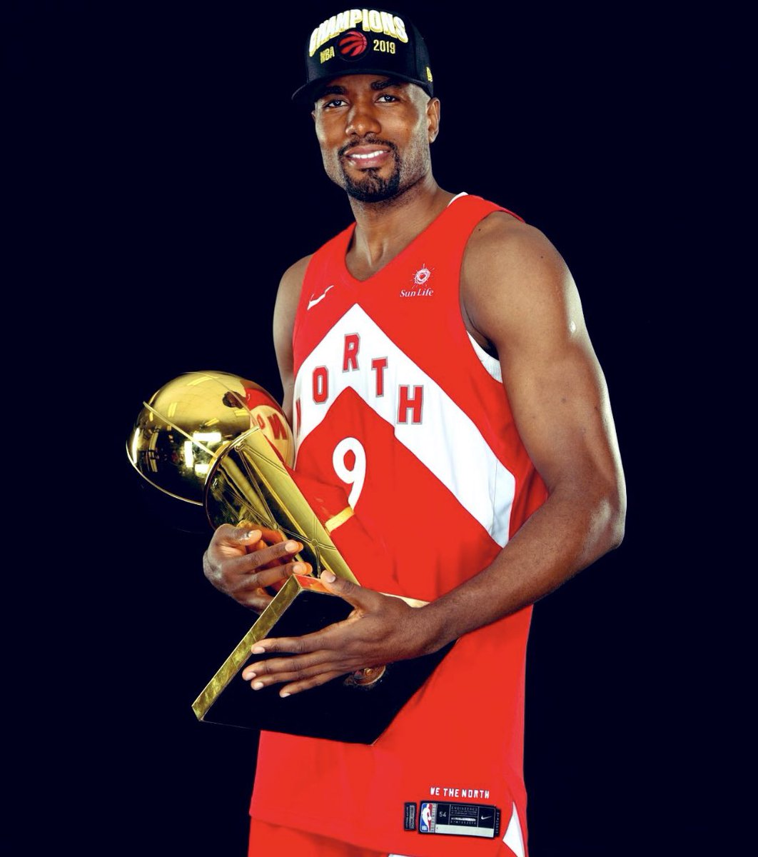A kid from Congo, becoming an NBA Champion is sureal. I was not supposed to be here but I never lost faith. This is a dream come true but also an opportunity for me to remind every kid in Congo, in Africa and everywhere that anything is possible. Thank you Toronto and Canada 🇨🇦