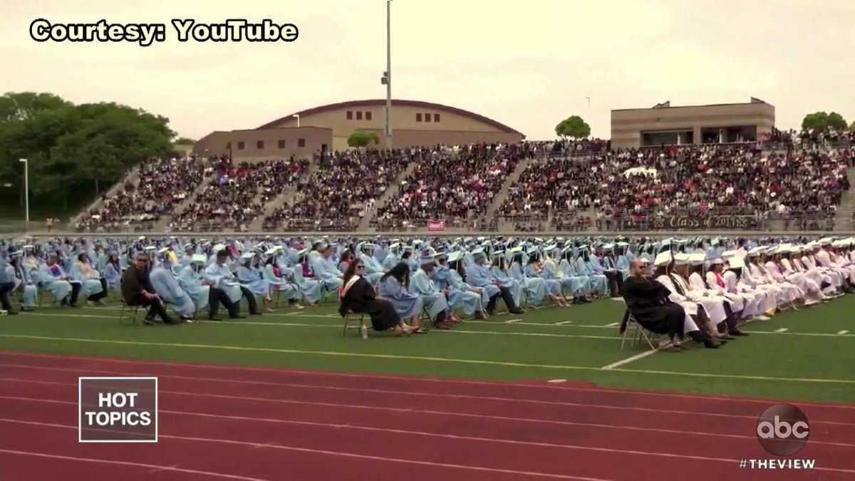 VALEDICTORIAN SPEECH BLASTS SCHOOL'S STAFF: A California high school's top student used her commencement speech as an opportunity to air her grievances against her alma mater – the co-hosts react. http://abcn.ws/2RiH3wd