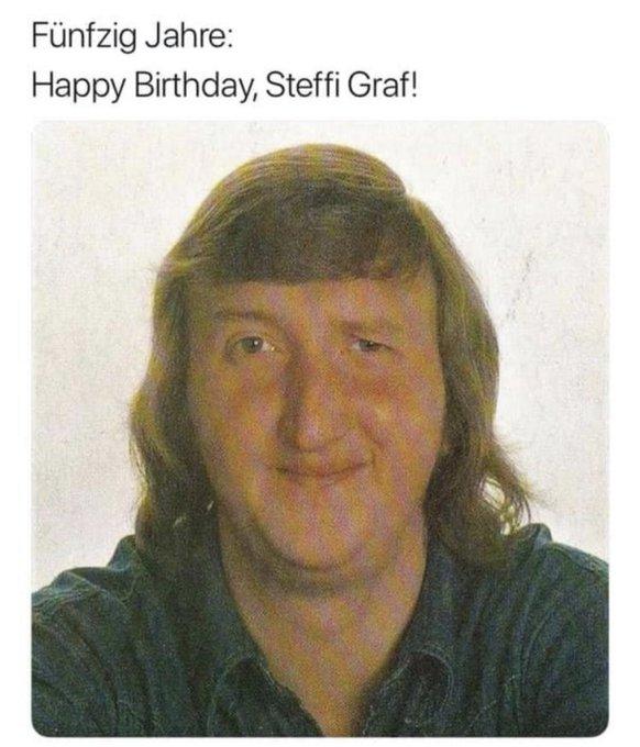 Happy Birthday Steffi Graf