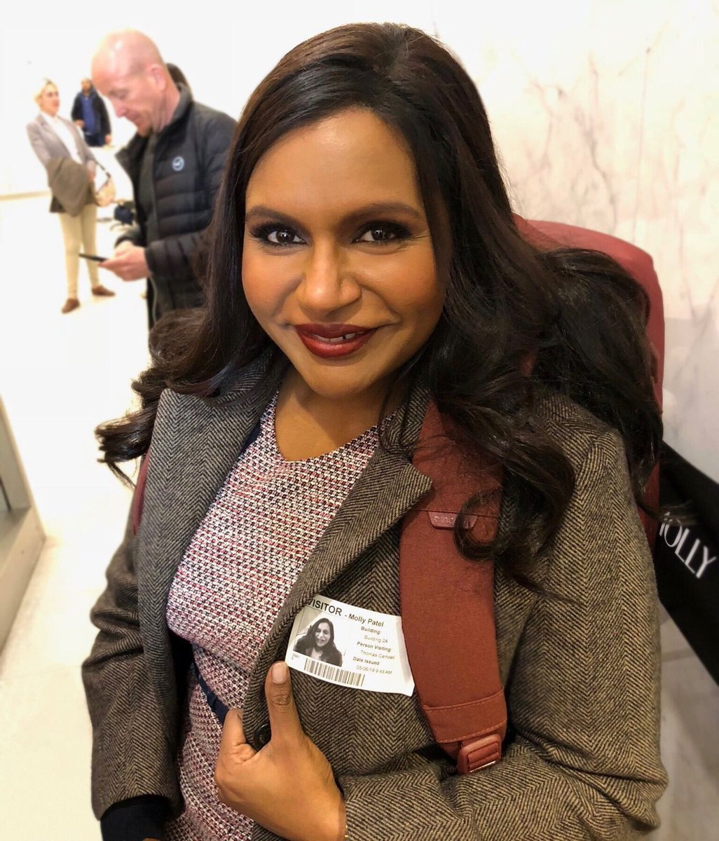 Mindy Kaling On Twitter Fbf To The Long Tiring Super Fun Days Of Writing Filming Latenightmovie I M So Grateful To Call Working With Funny Talented Folks My Job Today