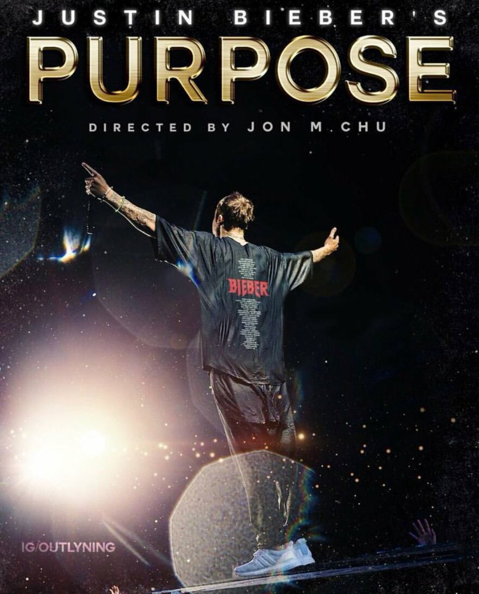 RT @JustinChartStat: Retweet if you would have love to see a Purpose Your Movie 🔥 https://t.co/YPwx1dXeWK