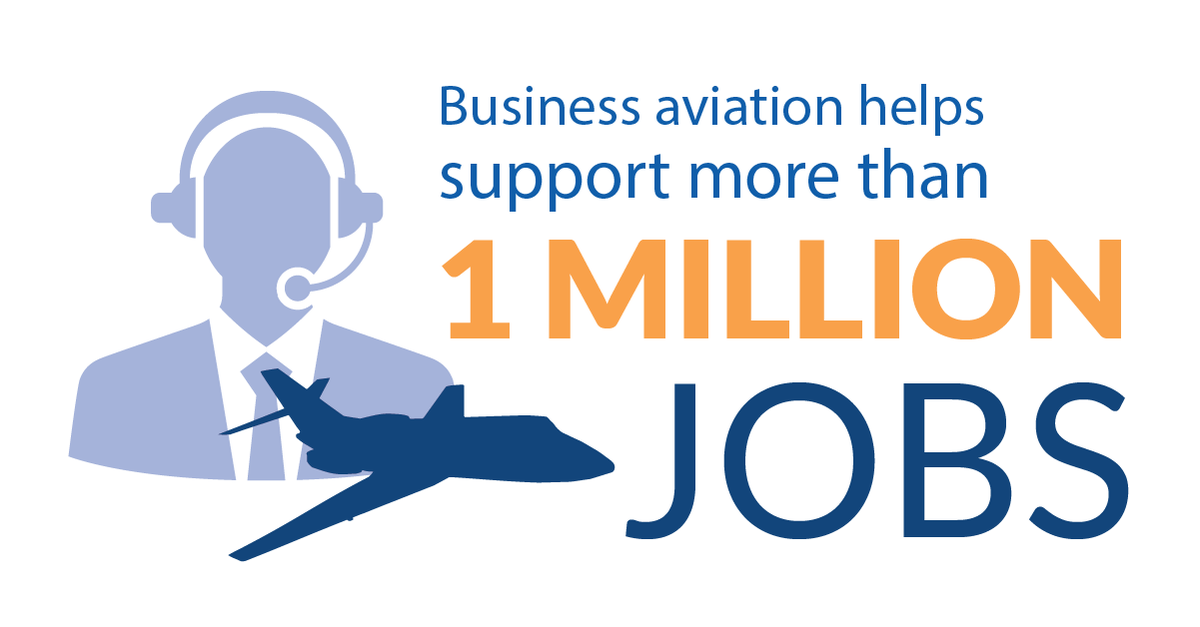 Schedulers, dispatchers, maintenance technicians, pilots, training professionals and airport employees are just a few of the many support professions involved in #bizav.