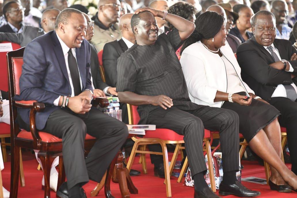 When Baba is Happy.Kenyans are happy...Long live H.E @RailaOdinga