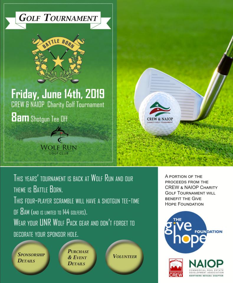The 12th Annual CREW & NAIOP Charity Golf Tournament is today!  #CREW #CREWevents #CRE #CREevents #networking https://buff.ly/2MrDGAU pic.twitter.com/RG75IRaREb