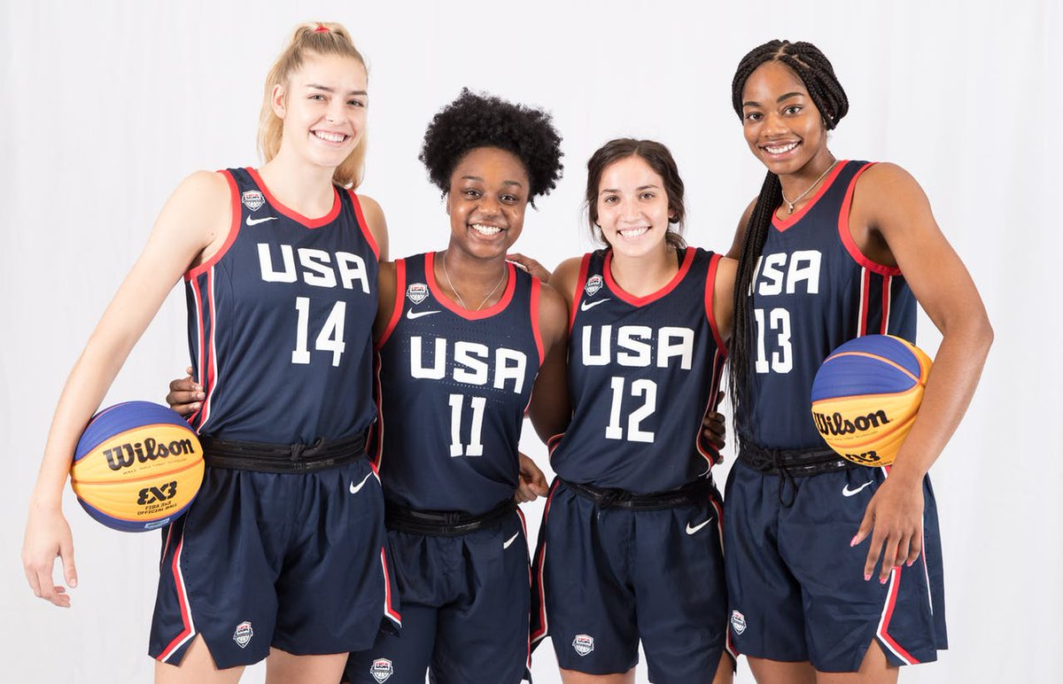 .@bella_alarie, @CharliC_14, @aleahgoodman & @christyn2000 are reppin' 🇺🇸 in Turin, Italy, this weekend at the second @FIBA3x3 Women's Series stop.  🆚 🇨🇿 Czech Republic 🆚 🇨🇦 Canada 🆚 🇫🇷 France  WATCH ➡️https://www.youtube.com/watch?v=nr3thMs1tTM…