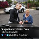Image for the Tweet beginning: Fraudsters Target Drivers with Staged
