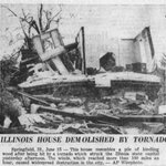 Image for the Tweet beginning: #Tornado #History!  Springfield, IL