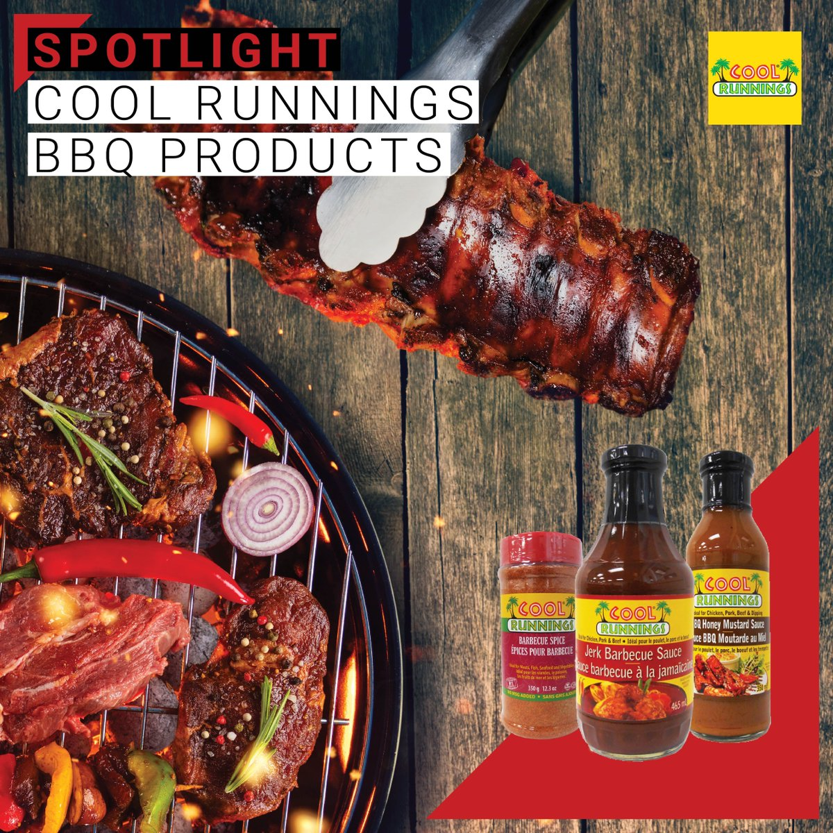 Not sure what to get your Dad for Father's day? What about Cool Runnings tasty Barbecue products? Your father will love it!  #bbqsauce #bbqseason #eatons #eatonsjamaica #coolrunningsfoods #spicysauce #fathersday #jerksauce #honeymustardsauce #caribbean #caribbeanfood