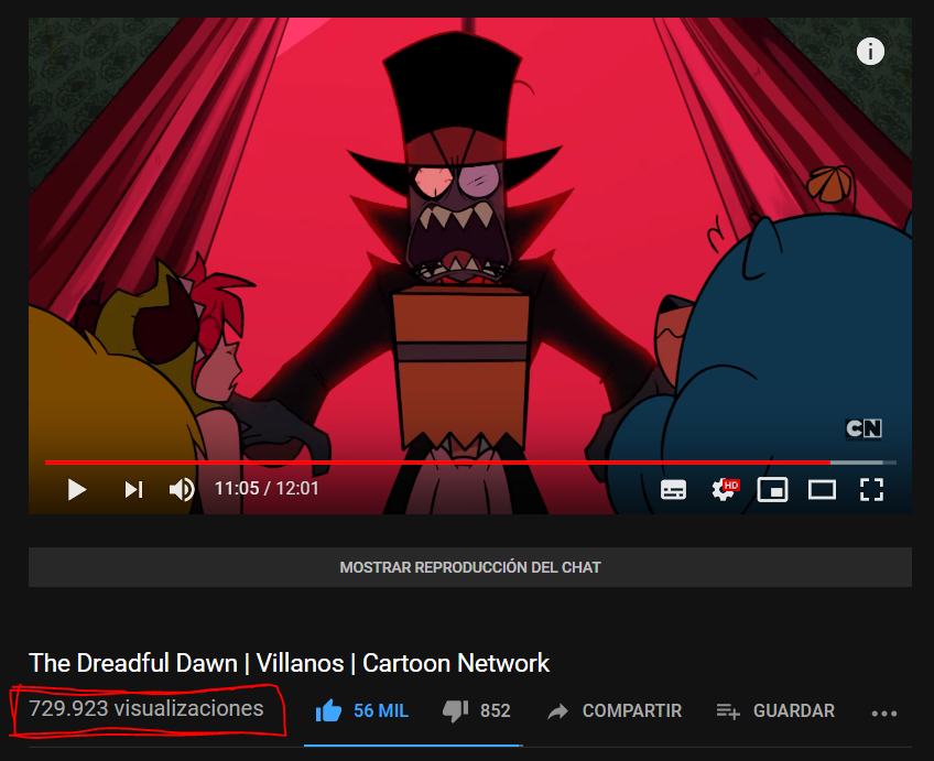 The #Villainous first episode The Dreadful Dawn in English