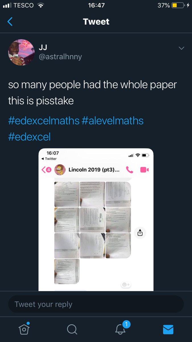edexcelmaths hashtag on Twitter
