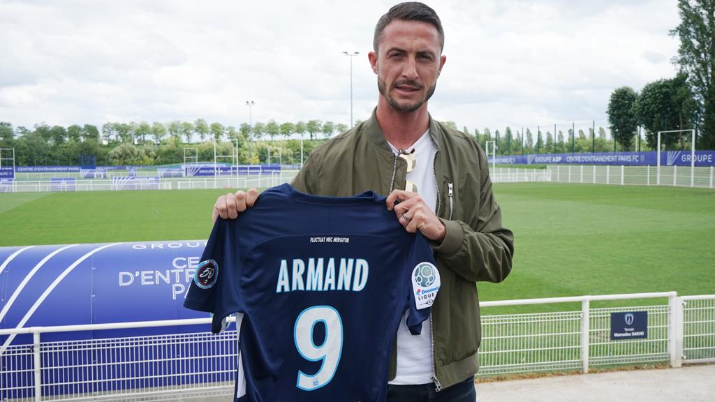 Paris FC : Romain Armand signe jusqu'en 2021 (Officiel)