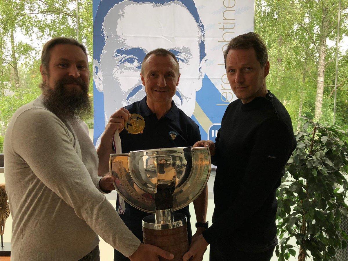 Children of Bodom congratulates Finland for winning Ice Hockey World Championship 2019 #finland #cobhc https://t.co/bK6Ga4ZIYt