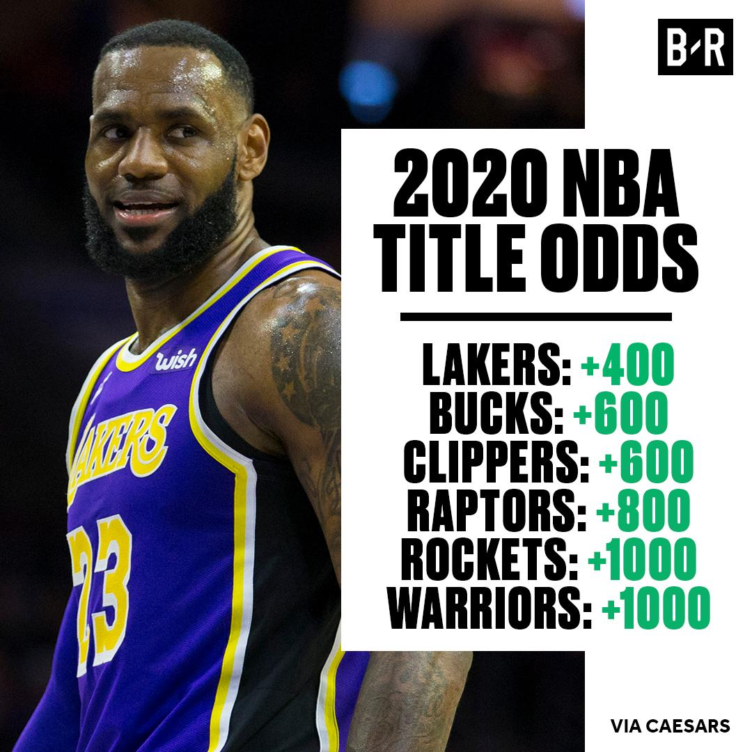 Lakers are the favorites to take it all next season 👀  It hasn't even been 24 hours since Raps were crowned champs  (via @br_betting)