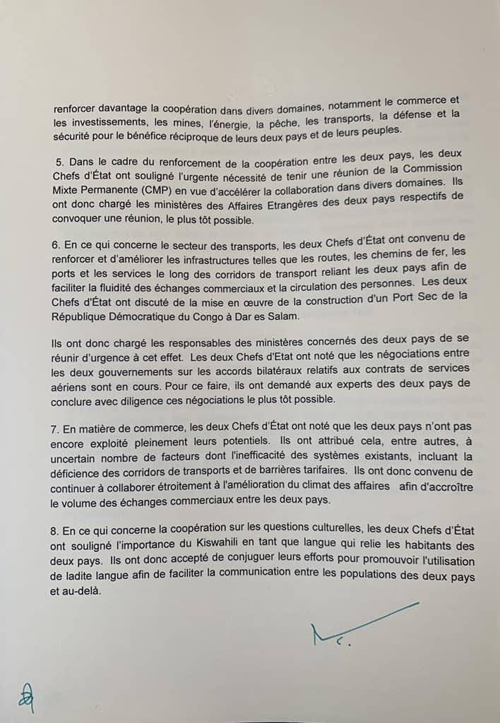 Steve Wembi در توییتر Rdc La Republique Unie De Tanzanie A Accepte D Apporter Son Soutien A La Requete De La Rdc Pour Son Adhesion A La Communaute Des Etats De L Afrique De