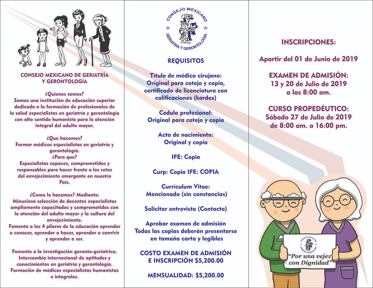 consejo mexicano de geriatria y gerontologia puebla