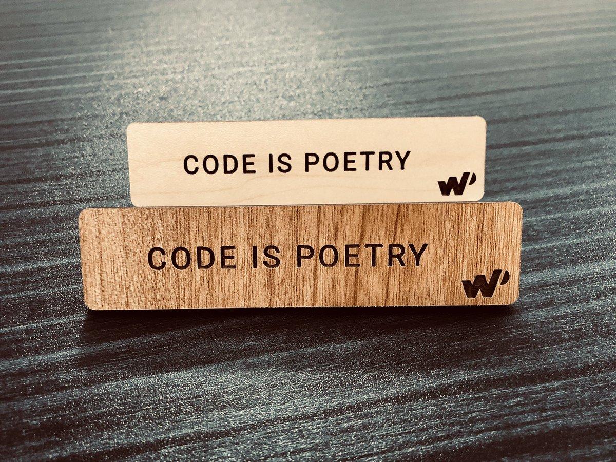 test Twitter Media - Yes! Code Is Poetry!#WordPress #Code #Poetry #WordCamp #WCEU #WCEurope #WPDeveloler  via @WPDevTeam https://t.co/hFxQ6QqYK1
