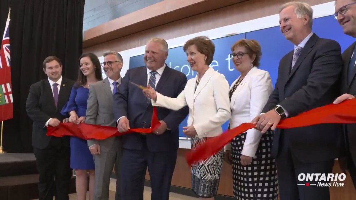 Premier Doug Ford visited Etobicoke General Hospital to celebrate the grand opening of a new patient tower that will house urgently needed services including a new emergency room and critical care unit.