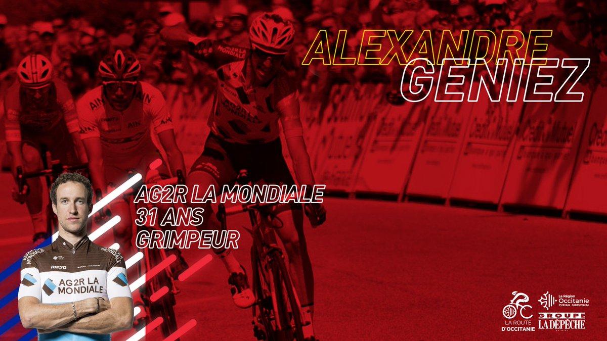 Régional de la 1ère étape aveyronnaise, @AlexGeniez sera au départ de la Route d'Occitanie jeudi prochain ! ☀  #RDO2019