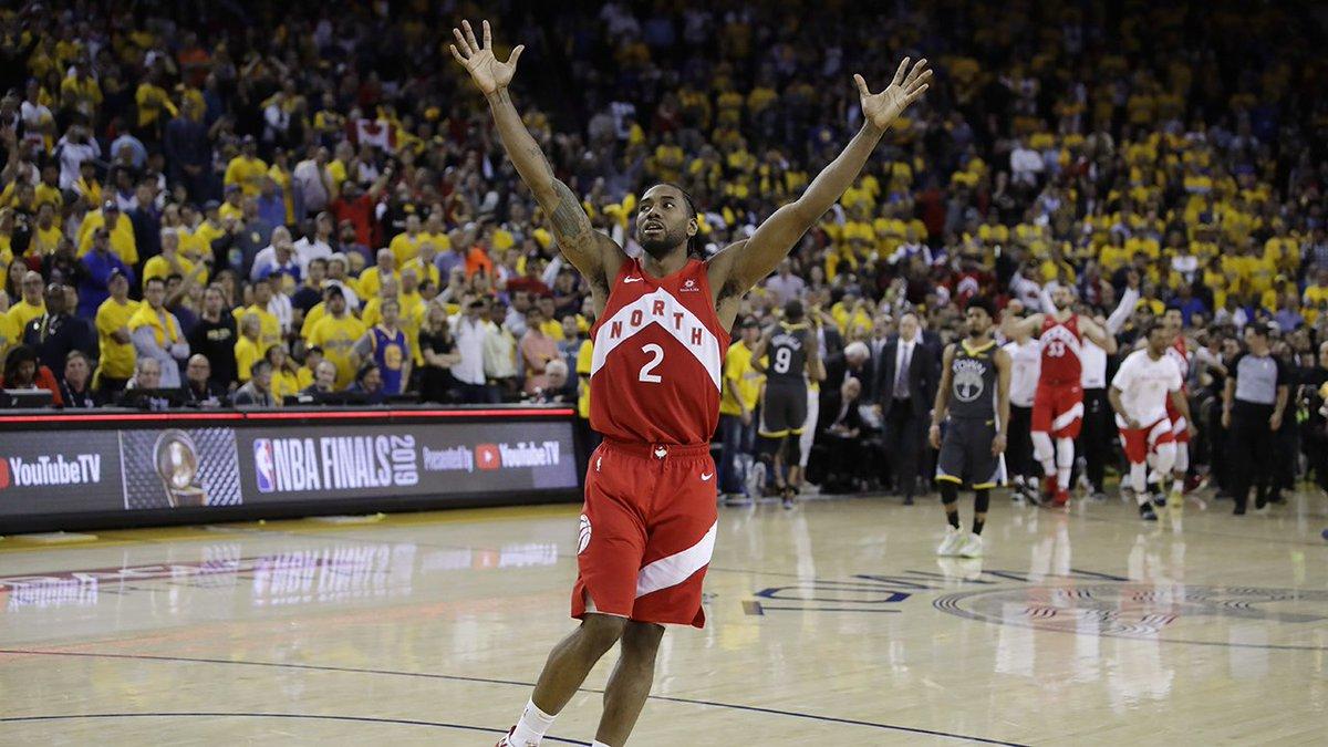 #Raptors Kawhi Leonard led 2019 playoffs in: Points Field Goals Made Free Throws Made Steals #WeTheNorth