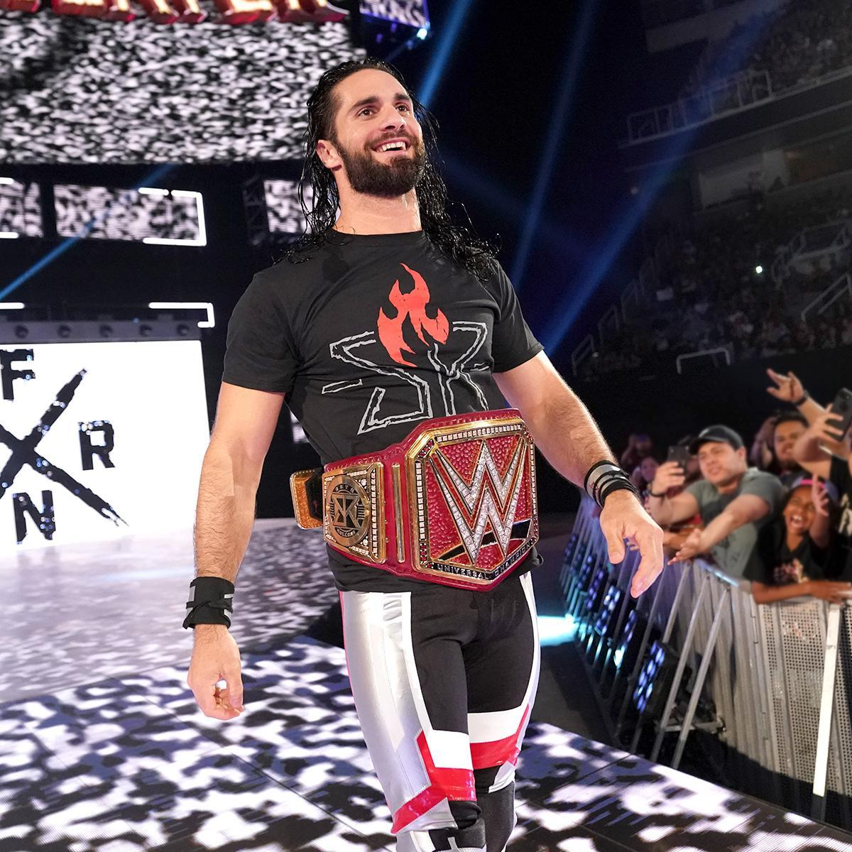 """Seth Rollins /""""Ignite the Will/"""" Authentic T-Shirt"""